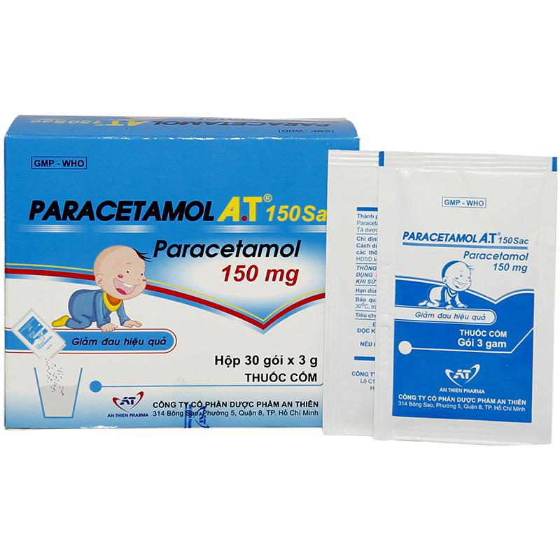 Paracetamol A.T 150 sac